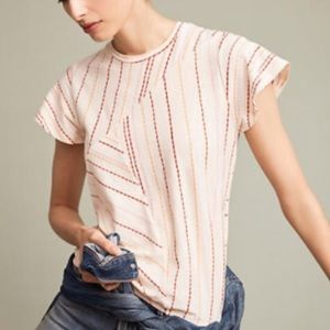 ❤️🧡💖Anthropologie maximal stripes top💖🧡❤️